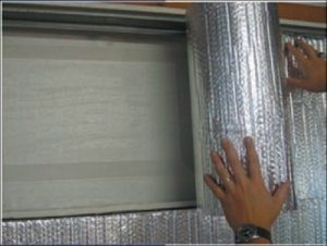 Garage Door Reflective Insulation