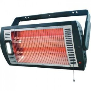 workbench heater with built in halogen light