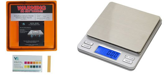 Calcium Chloride Test Kit with Digital Pocket Scale